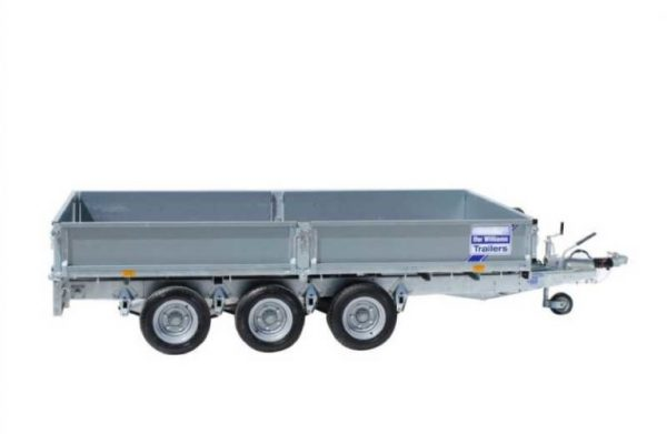 Ifor Williams Plataforma LM126 3 Ejes