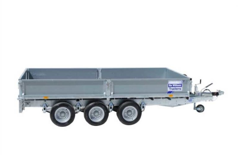 Ifor Williams Plataforma LM147 3 Ejes