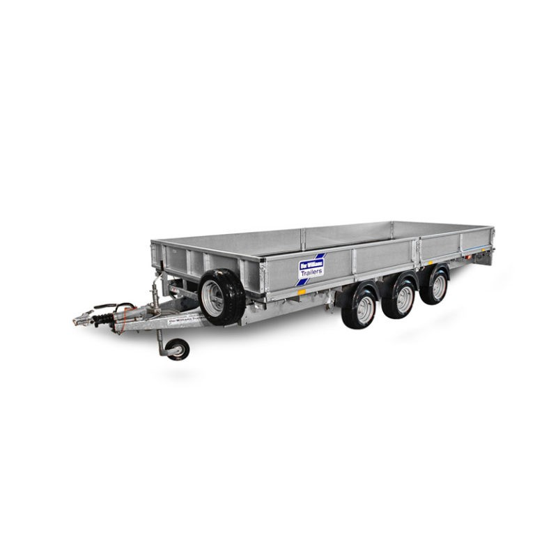 Ifor Williams Plataforma LM186 3-Ejes