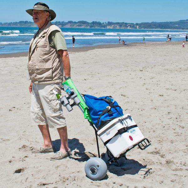 Rueda Globo Mini carrito de playa plegable4
